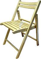 Классический складной деревянный стул.
