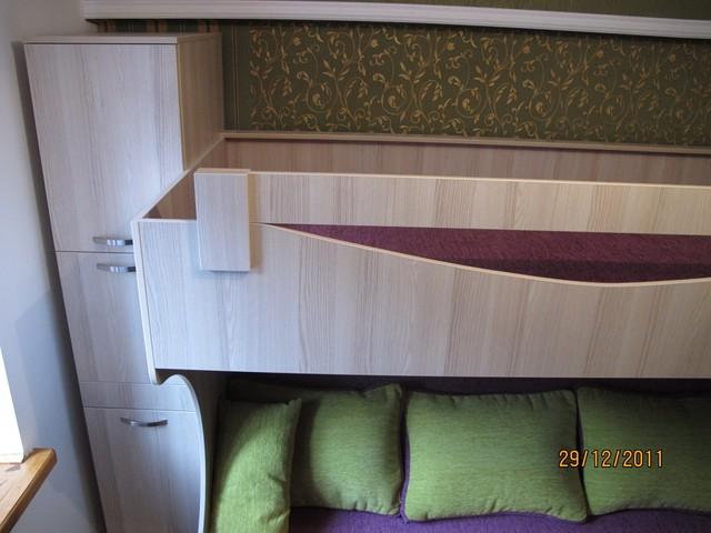 Кровать 2х ярусная с диваном. Алматы