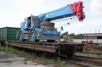 Железнодорожные перевозки вагонами, полувагонами, платформами, цистернами.
