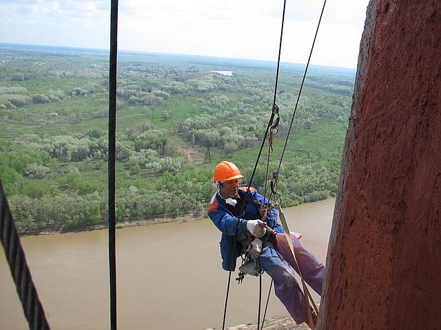 Промышленный альпинист работа донецк