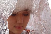 Казахское национальное свадебное платье в Алматы - изображение 1.