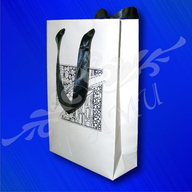 ПОРТФОЛИО.  Бумажный пакет с логотипом.  Изготовление, печать.