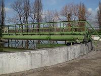 Илоскреб диаметром 18м,30м,40м, М591 первичного радиального отстойника.
