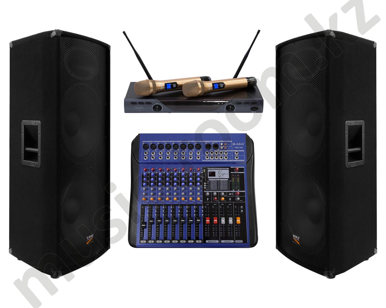 Комплект звуковой аппаратуры 1200 Ватт