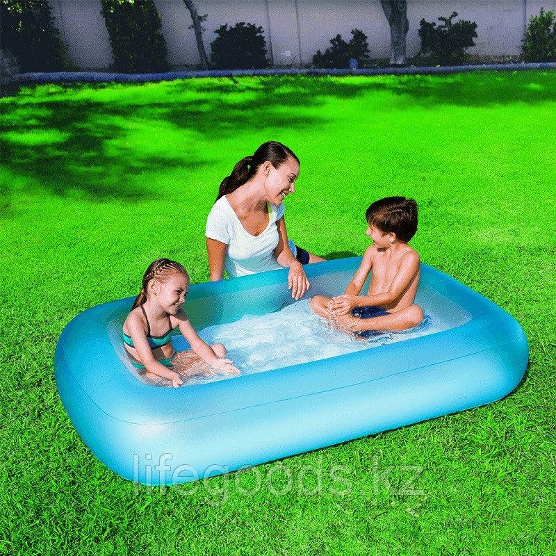"Детский надувной бассейн ""Аквабэйби"" (голубой цвет)165х104х25см, Bestway 51115"