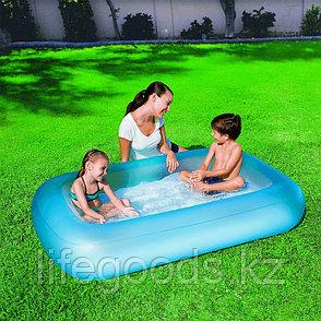 "Детский надувной бассейн ""Аквабэйби"" (голубой цвет)165х104х25см, Bestway 51115, фото 2"