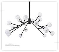 Люстра в стиле Post-Modern на 18 ламп, фото 1