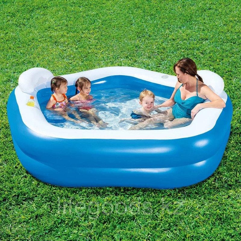 """Семейный надувной бассейн """"Family fun"""" 213х206х69см, Bestway 54153"""