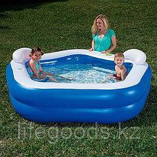 """Семейный надувной бассейн """"Family fun"""" 213х206х69см, Bestway 54153, фото 2"""