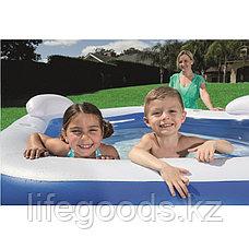 """Семейный надувной бассейн """"Family fun"""" 213х206х69см, Bestway 54153, фото 3"""