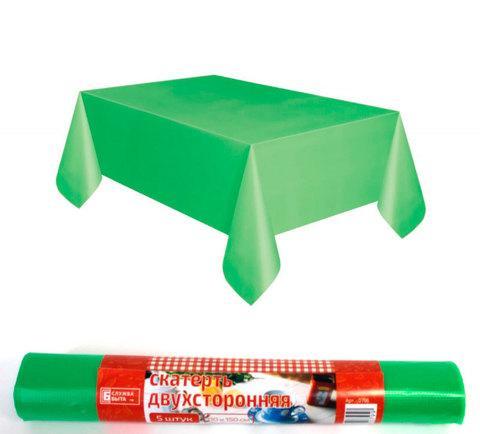 Комплект скатертей двухсторонних «Служба Быта» [110х150, 5 штук] (Зеленый)