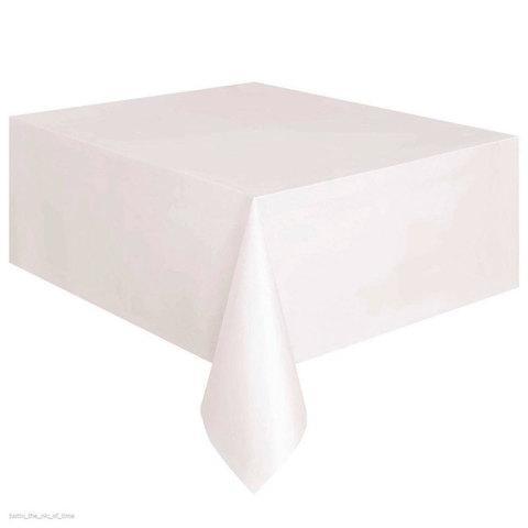 Комплект скатертей двухсторонних «Служба Быта» [110х150, 5 штук] (Белый)