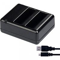 GoPro - Зарядное устройство на 2 батарейки GoPro Hero 4
