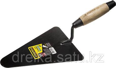 Кельма бетонщика STAYER с деревянной усиленной ручкой КБ , фото 2