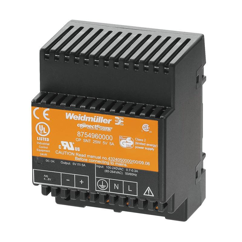 Источник питания управляемый CP SNT 25W 5V 5A