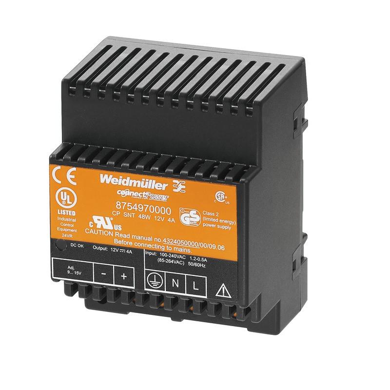 Источник питания управляемый CP SNT 48W 12V 4A