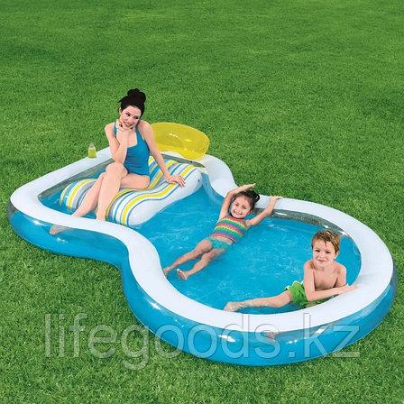 "Семейный надувной бассейн ""Staycation"" 279х234х48 см, Bestway 54168, фото 2"