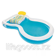 "Семейный надувной бассейн ""Staycation"" 279х234х48 см, Bestway 54168, фото 3"