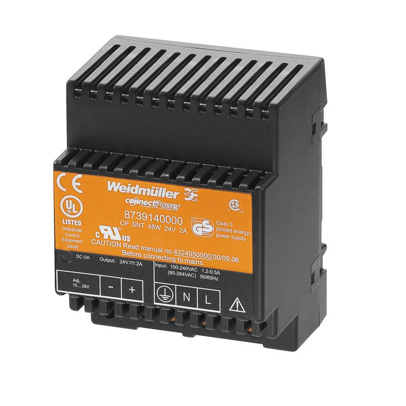 Источник питания управляемый CP SNT 48W 24V 2A