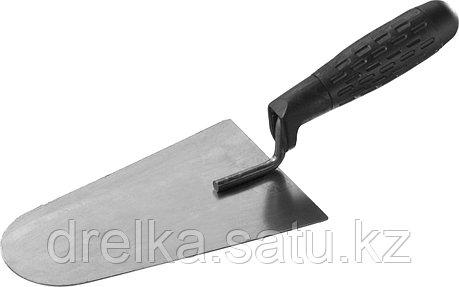 """Кельма каменщика STAYER """"STANDARD"""" с пластмассовой ручкой, КК, фото 2"""