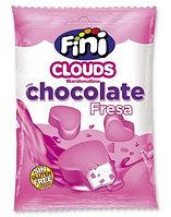 """Fini Суфле mini """"Сердечки в шоколадной глазури"""" 80 гр. / Испания, фото 1"""