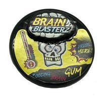 Жевательная резинка Brain Blasterz 30 гр (10 шт в упаковке)