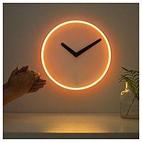 Настенные часы СТОЛПА белый ИКЕА, IKEA, фото 1