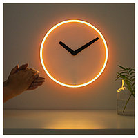 Настенные часы СТОЛПА белый ИКЕА, IKEA