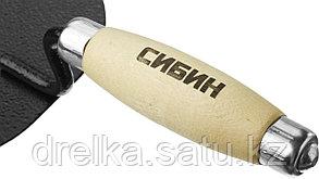 Кельма каменщика СИБИН с деревянной усиленной ручкой, КК, фото 2