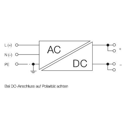 Источник питания управляемый CP E SNT 150W 24V 6.5A, фото 2