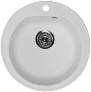 Кухонная мойка ORIVEL - VENERA белый