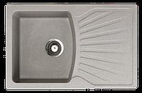 Кухонная мойка ORIVEL - QUADRO PLUS серый , фото 1