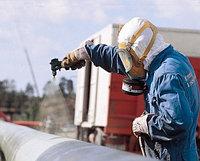 Антикоррозийная обработка трубопровода