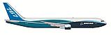"""Сборная модель Пассажирский авиалайнер """"Боинг-767-300"""",  1\144, Звезда, фото 3"""