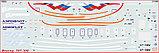 """Сборная модель Пассажирский авиалайнер """"Боинг-767-300"""",  1\144, Звезда, фото 7"""