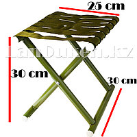 Раскладной стул для пикников и рыбалок зеленый