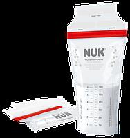 NUK Пакеты стерильные для хранения грудного молока 25 шт
