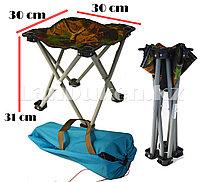 Раскладной стул для пикников и рыбалок с чехлом