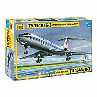 Пассажирский авиалайнер Ту-134А/Б-3, сборная модель, 1:144, фото 1