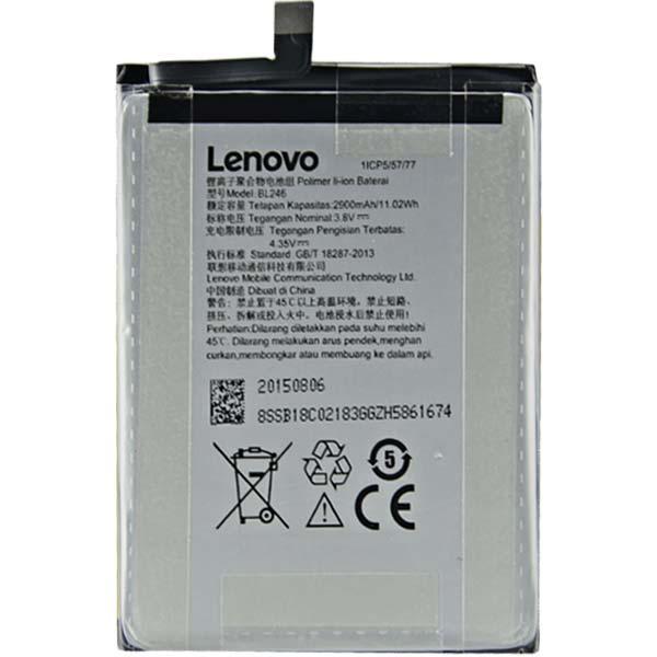 Заводской аккумулятор для Lenovo Vibe Shot  (BL-246, 3000 mAh)