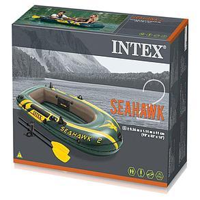 Лодка надувная ПВХ Intex 68347 Seahawk, фото 2