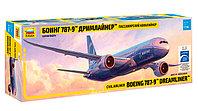 Пассажирский авиалайнер Боинг 787-9 «Дримлайнер», сборная модель, 1:144, фото 1