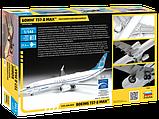 """Пассажирский авиалайнер """"Боинг 737-8 MAX"""", сборная модель, 1:144, фото 8"""