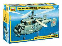 """Российский противолодочный вертолет """"Морской охотник"""", сборная модель, 1:72, фото 1"""