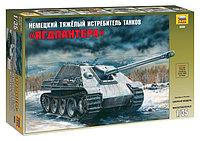 """Тяжелый немецкий истребитель танков """"Ягдпантера"""" SD.KFZ.173, сб модель, 1:35"""