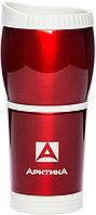 Кружка-термос ARCTICA автомобильная (0,4л)(металл)-красная R 84625