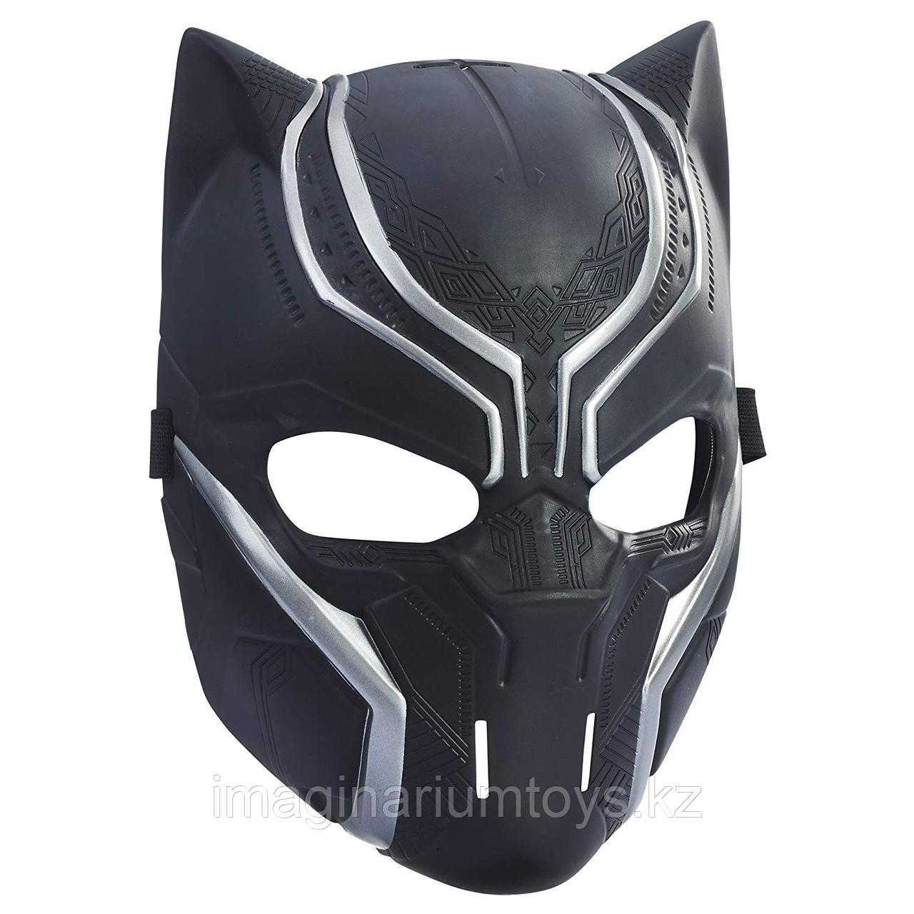 Черная пантера Маска супергероя Marvel Black Panther