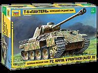 """Немецкий средний танк Т-V """"Пантера"""", сборная модель, 1:35, фото 1"""