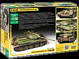 Советский средний танк Т-34/85, сборная модель, 1:35, фото 2
