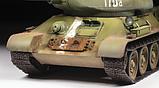 Советский средний танк Т-34/85, сборная модель, 1:35, фото 5